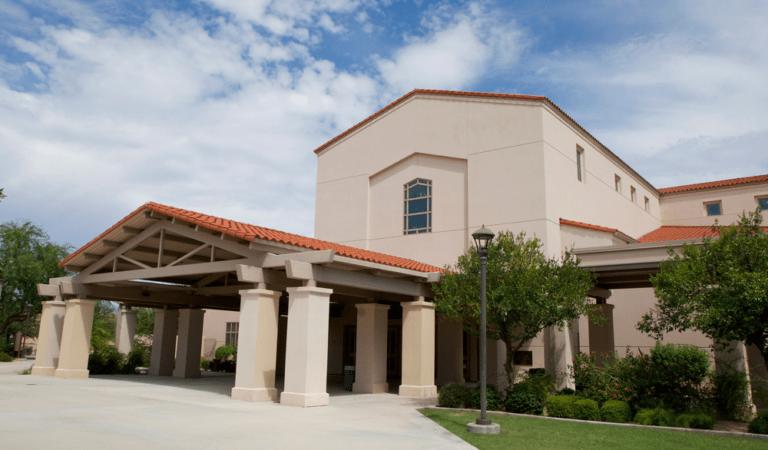 La Casa de Cristo Sanctuary Front View