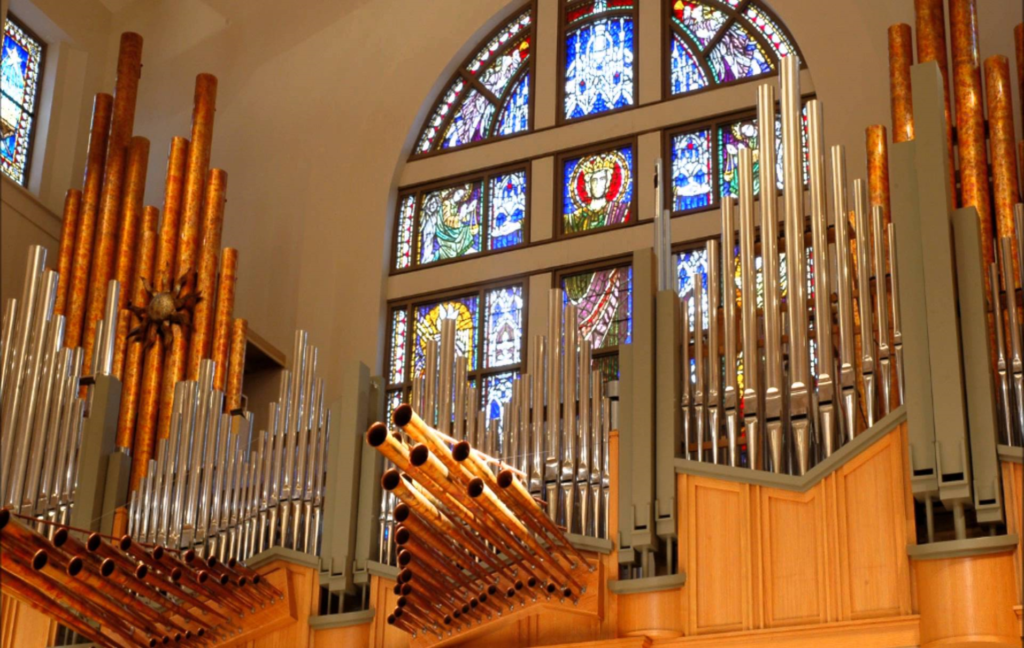 The Berghaus Pipe Organ at La Casa De Cristo Lutheran Church