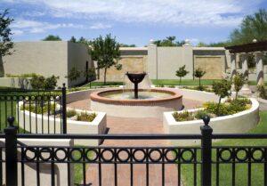Memorial Garden at La Casa de Cristo Lutheran Church Phoenix, Arizona and Scottsdale