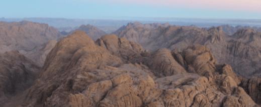 Egypt Mountain range graphic 2020